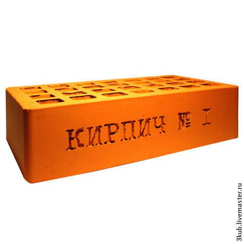 Кирпич с надписью. Или надпись на кирпиче. Третий Куб.