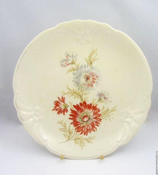 Винтажная посуда. Ярмарка Мастеров - ручная работа. Купить бронь HEINRICH WINTERLING  Хризантемы прекрасное старинное блюдо. Handmade. фарфор