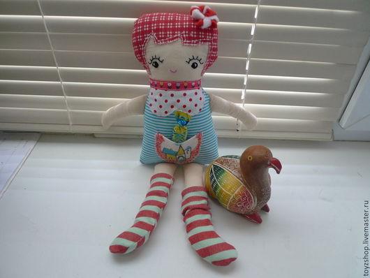 Человечки ручной работы. Ярмарка Мастеров - ручная работа. Купить Игровая  куколка Подружка. Handmade. Кукла ручной работы, флис