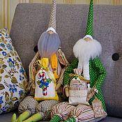 Куклы Тильда ручной работы. Ярмарка Мастеров - ручная работа Санта Клаус. Handmade.