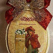 """Подарки к праздникам ручной работы. Ярмарка Мастеров - ручная работа Панно """"Незнакомка"""". Handmade."""