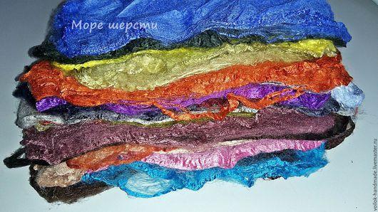 Набор шелковых квадратов - 60г - 25 цветов