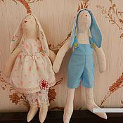Тильда Зверята ручной работы. Ярмарка Мастеров - ручная работа Тильда заяц. Handmade.