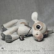 Куклы и игрушки ручной работы. Ярмарка Мастеров - ручная работа Валяная игрушка «Бычок». Handmade.