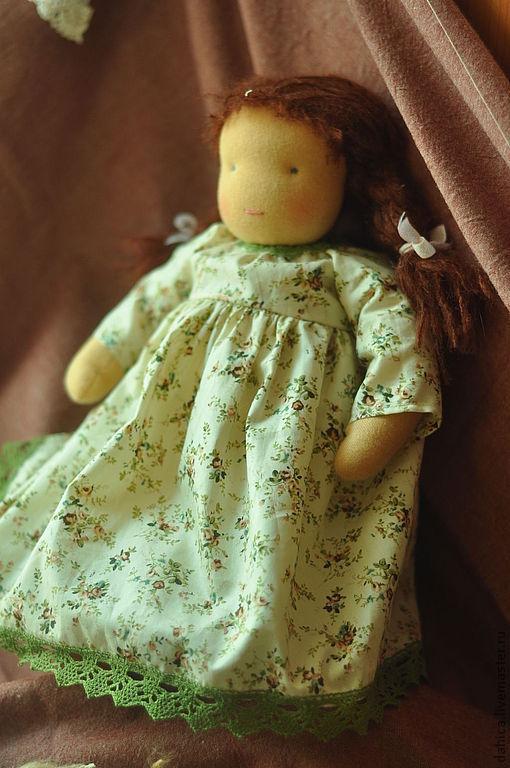Вальдорфская игрушка ручной работы. Ярмарка Мастеров - ручная работа. Купить Вальдорфская кукла. Handmade. Вальдорфская кукла, вальдорфские куклы