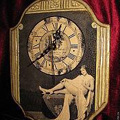 Для дома и интерьера handmade. Livemaster - original item Wall clock Silver age. Handmade.