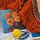 """Текстиль, ковры ручной работы. Ярмарка Мастеров - ручная работа. Купить Коврик """"Терракотовый"""". Handmade. Коврик, коврики, коврик купить"""