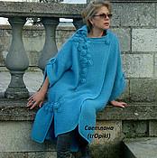 """Одежда ручной работы. Ярмарка Мастеров - ручная работа """"Водопад из роз""""авторское вязаное пальто. Handmade."""