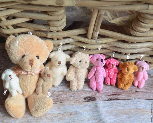 Куклы и игрушки ручной работы. Ярмарка Мастеров - ручная работа. Купить Друзья кукол мишки. Handmade. Игрушка для куклы