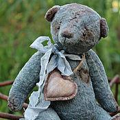 """Куклы и игрушки ручной работы. Ярмарка Мастеров - ручная работа мишка """"Сердешный"""". Handmade."""