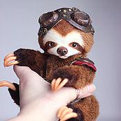 Куклы и игрушки ручной работы. Ярмарка Мастеров - ручная работа RISILLO  ленивец. Handmade.