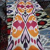 Материалы для творчества handmade. Livemaster - original item Uzbek cotton ikat hand weaving. Handmade.