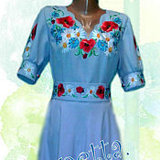 Одежда handmade. Livemaster - original item Dress Alina. Handmade.