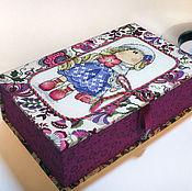 Для дома и интерьера ручной работы. Ярмарка Мастеров - ручная работа Шкатулка для мелочей. Handmade.