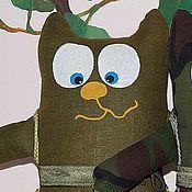 """Куклы и игрушки ручной работы. Ярмарка Мастеров - ручная работа мягкие игрушки коты """"Мальбрук в поход собрался"""". Handmade."""