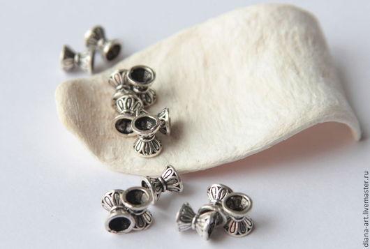 """Для украшений ручной работы. Ярмарка Мастеров - ручная работа. Купить Бусины """" Ваза """" серебро 925. Handmade."""