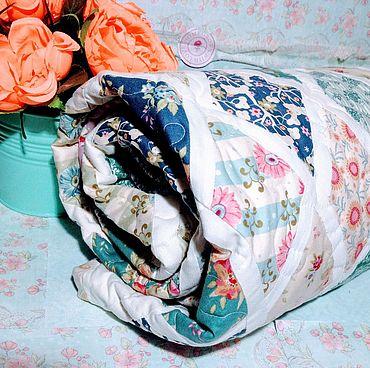 Для дома и интерьера ручной работы. Ярмарка Мастеров - ручная работа Одеяло  - Прости, мой сад (Tilda). Handmade.