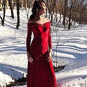 Одежда ручной работы. Ярмарка Мастеров - ручная работа Бархатное платье №3. Handmade.