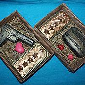 """Подарки к праздникам ручной работы. Ярмарка Мастеров - ручная работа """" Мужские наборы"""" в ассортименте. Handmade."""