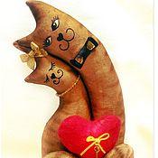 Свадебный салон ручной работы. Ярмарка Мастеров - ручная работа Неразлучники. Влюбленные, счастливые, красивые! Подарок на годовщину. Handmade.