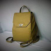 Сумки и аксессуары handmade. Livemaster - original item Backpack W0070. Leather. Handmade. Alia Svalia. Handmade.