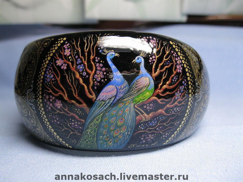 A set of jewelry 'Peacock', Bracelet set, Sizran,  Фото №1