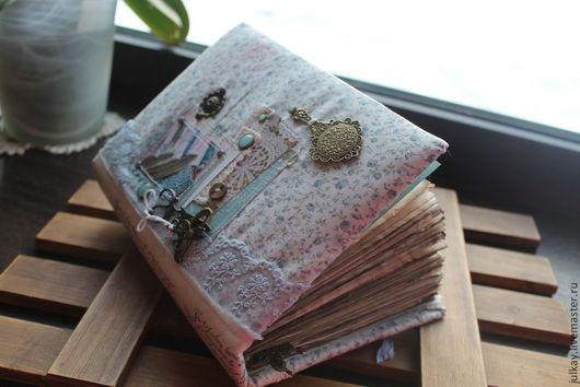 """Блокноты ручной работы. Ярмарка Мастеров - ручная работа. Купить Блокнот ручной работы """"Рукодельные записи ..."""". Handmade. Блокнот"""