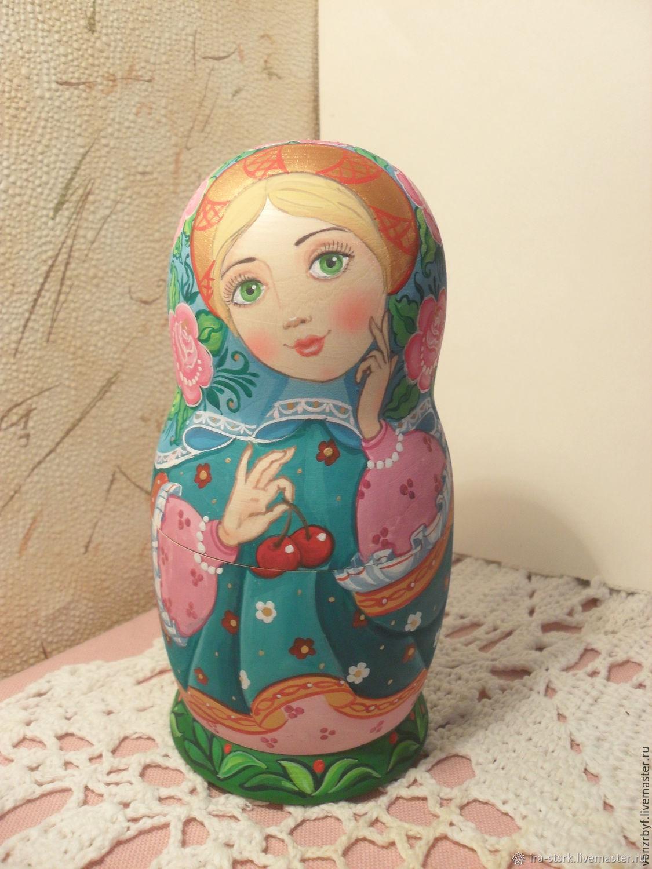 Matryoshka with the cherry, Dolls1, Vitebsk,  Фото №1