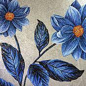 Картины и панно ручной работы. Ярмарка Мастеров - ручная работа Мозаичное панно - цветы. Handmade.