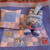 Для дома и интерьера ручной работы. Ярмарка Мастеров - ручная работа Одеяльце-комплект для Тёмы. Handmade.