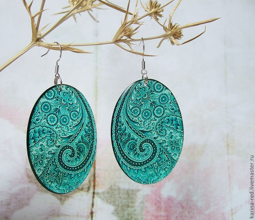 buy transparent resin earrings handmade jewelry in stock and on order new year's gifts to colleagues gifts for March 8 women Indian jewelry ethnic style jewelry, boho accessories