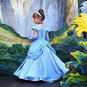 Работы для детей, handmade. Livemaster - original item Elegant ball gown Cinderella. Christmas carnival costume.. Handmade.