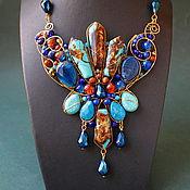 Украшения handmade. Livemaster - original item Necklace Union of Earth and Water. Handmade.