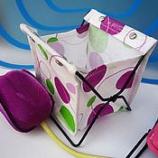 Материалы для творчества handmade. Livemaster - original item Fabric organizer. Handmade.