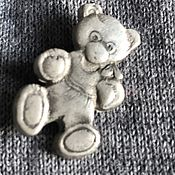 "Винтаж handmade. Livemaster - original item Брошь винтажная  ""Мишка"", Голландия. Handmade."
