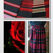 """Одежда ручной работы. Ярмарка Мастеров - ручная работа юбочка """" Красная роза"""". Handmade."""