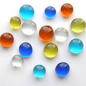 Материалы для творчества handmade. Livemaster - original item Glass cabochon assorted colors. Handmade.