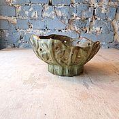"""Посуда ручной работы. Ярмарка Мастеров - ручная работа чаша для клубка или для фруктов """"каменные заросли"""". Handmade."""