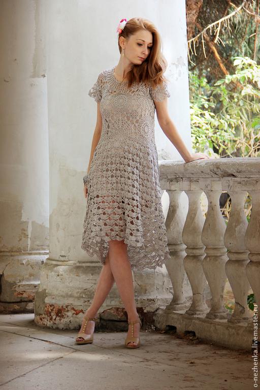 Egge. Вязание в стиле бохо. Вязаные платья ручной работы. Ярмарка мастеров - ручная работа. Handmade. Бохо.