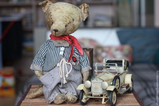 Мишки Тедди ручной работы. Ярмарка Мастеров - ручная работа. Купить Волчонок Венька.. Handmade. Серый, плюшевая игрушка