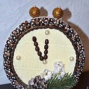 Сувениры и подарки ручной работы. Ярмарка Мастеров - ручная работа букет из конфет часы-будильник  Новогодние сладкие подарки. Handmade.