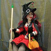 Куклы и игрушки ручной работы. Ярмарка Мастеров - ручная работа Сабрина - молодая ведьмочка (2). Handmade.