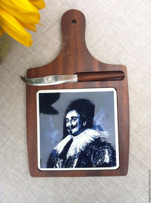 """Винтажная посуда. Ярмарка Мастеров - ручная работа. Купить Доска сырная """"Франс Халс"""", Голландия, 70-е гг. Handmade."""