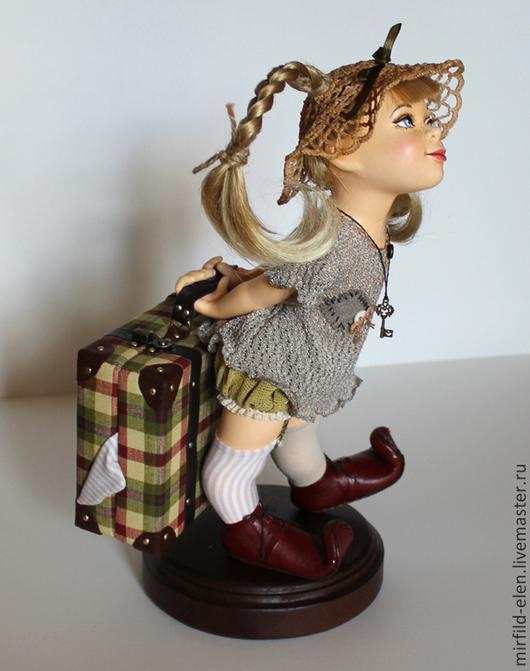 Коллекционные куклы ручной работы. Ярмарка Мастеров - ручная работа. Купить Пеппилотта. Handmade. Кукла ручной работы, подарок
