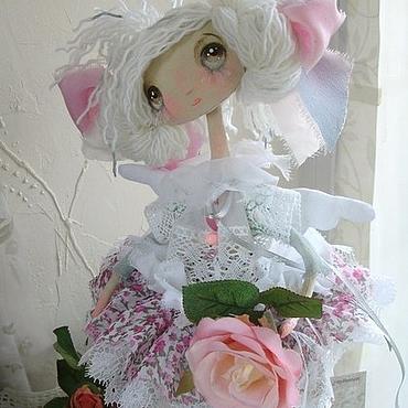 Куклы и игрушки ручной работы. Ярмарка Мастеров - ручная работа Эми...Ангел в стиле Шебби Шик.. Handmade.