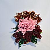 Цветы и флористика ручной работы. Ярмарка Мастеров - ручная работа Ракушка с розами. Handmade.