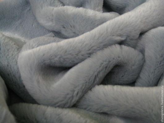 Куклы и игрушки ручной работы. Ярмарка Мастеров - ручная работа. Купить Итальянский плюш 15мм. Handmade. Голубой