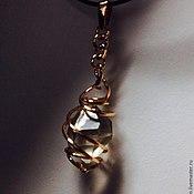 Подвеска ручной работы. Ярмарка Мастеров - ручная работа кулон с алмазом херкимера. Handmade.