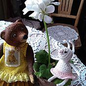 Куклы и игрушки ручной работы. Ярмарка Мастеров - ручная работа Машутка Одуванчикова. Handmade.
