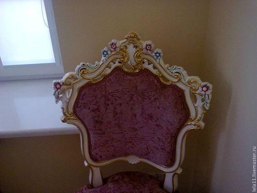 Реставрация стульев, роспись под интерьер.